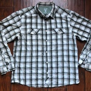 Mountain Hardwear Men's Button Shirt Hiking Camp